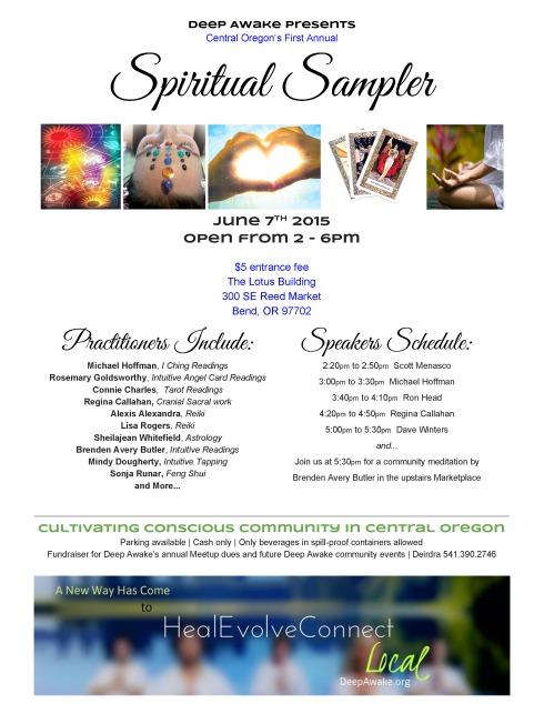 SpiritualSampler-June 7
